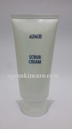 Alfacid scrub cream home peeling
