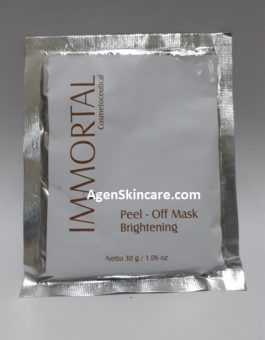MASKER PEEL OFF BRIGHTENING IMMORTAL