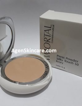IMMORTAL PRESSED POWDER SILKY TOUCH 50 IVORY
